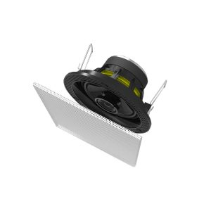 "Arandela BSA S-1 Quadrada 3,5"" Ceiling/In Wall 30W Rms"